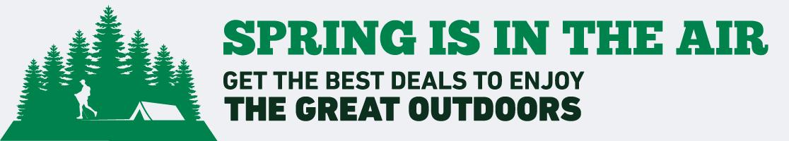 Shop the Best Great Outdoors Deals!