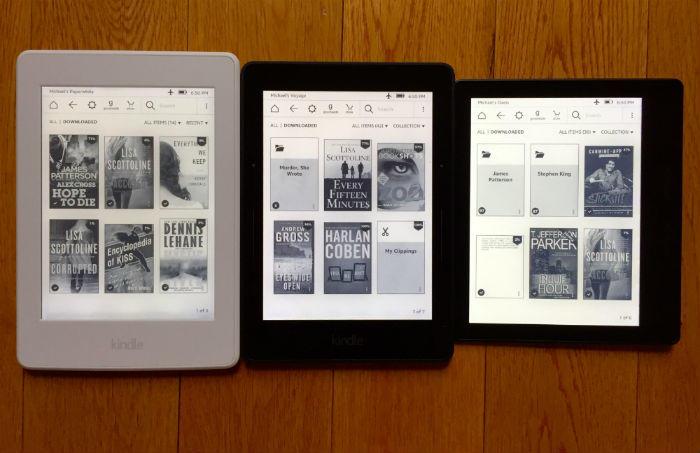Kindle eBook readers