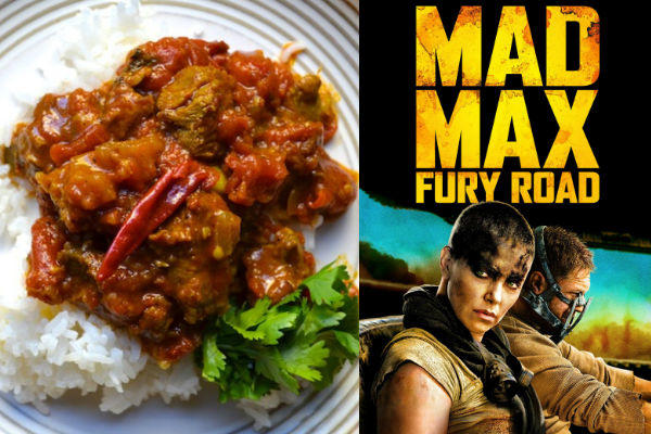 Mad Max Curry Road