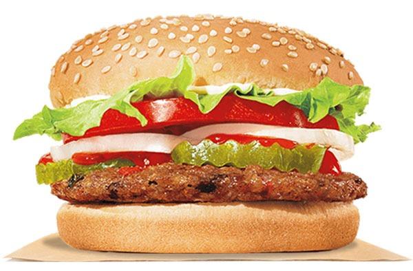 Vegetarian Burger Fast Food Restaurants