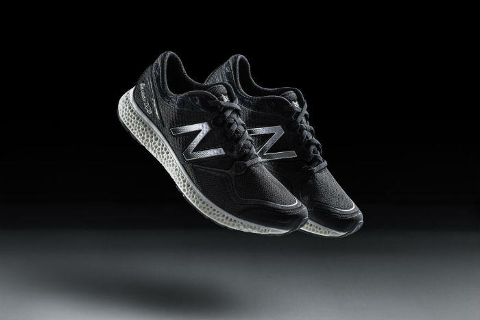 New Balance 3D midsole shoe