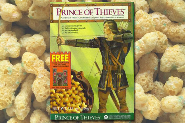Prince of Thieves Cereal