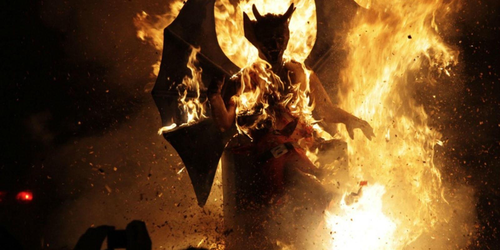 Quema del Diablo