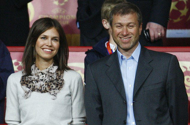 Roman Abramovich and Dasha Zhukova