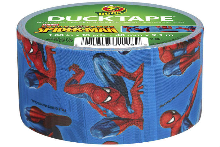 Spider-Man Duct Tape