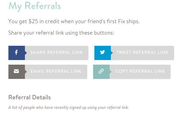 Stitch Fix referral link info