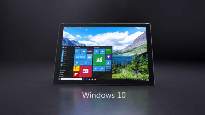 Windows 10 on Microsoft Surface Pro 4