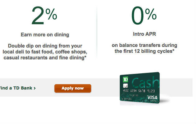 TD Cash Rewards Visa