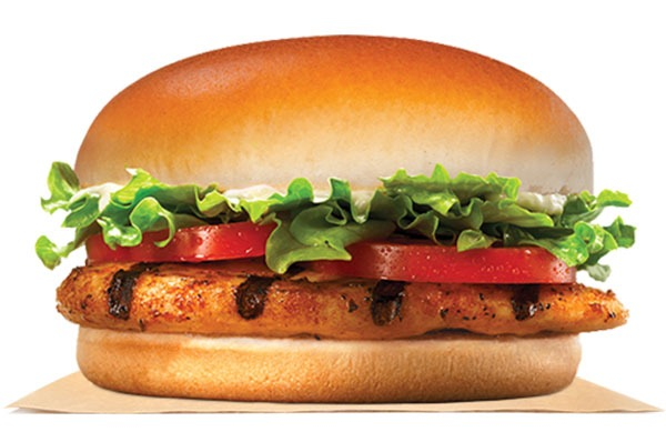 Burger King Tendergrill Chicken Sandwich