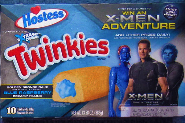 X-Men Days of Future Past Twinkies