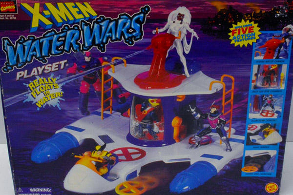 X-Men Water Wars playset