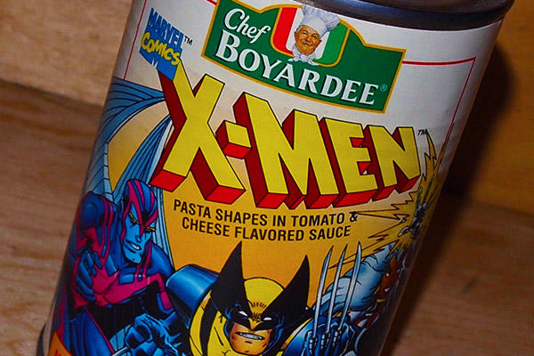 X-Men Chef Boyardee can