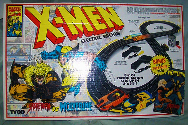 X-Men electric racing set