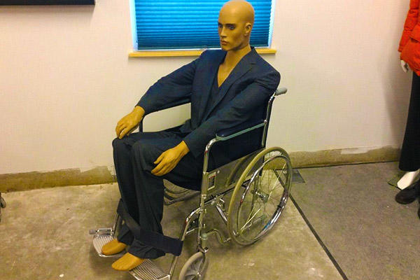 Professor X suit