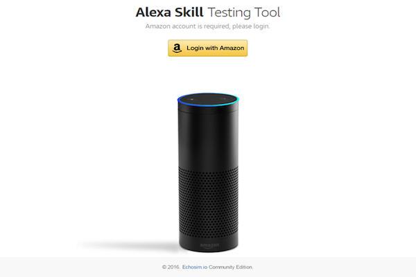 Alexa skill testing