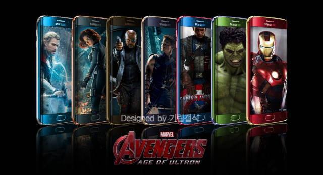 Avengers Smartphones