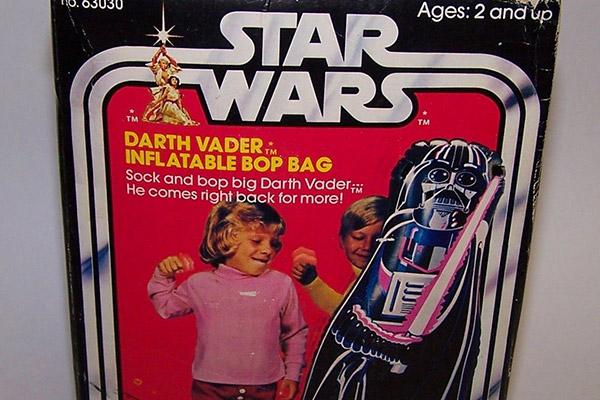 Darth Vader bop bag