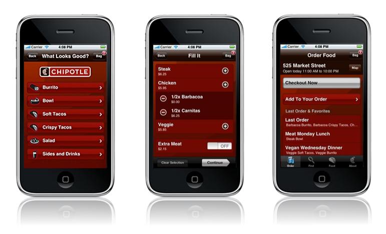 Chipotle app