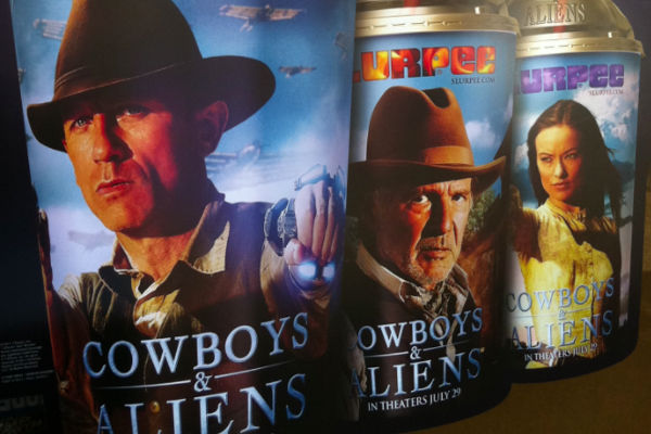 Cowboys Aliens Slurpee