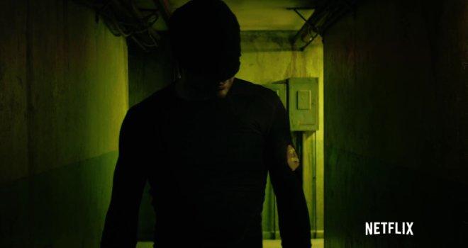 Daredevil In Hallway
