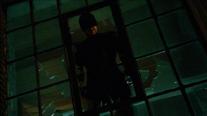 Daredevil In Window