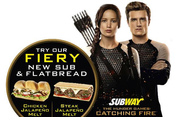 Hunger Games Subway