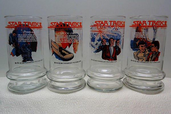 Star Trek Taco Bell glasses