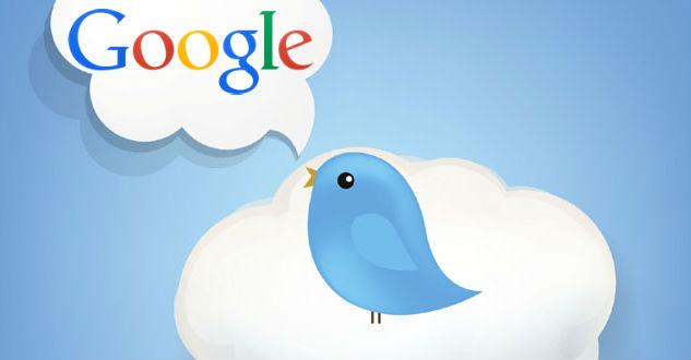 Twitter Bird Google