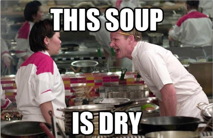 Gordon Ramsay soup meme