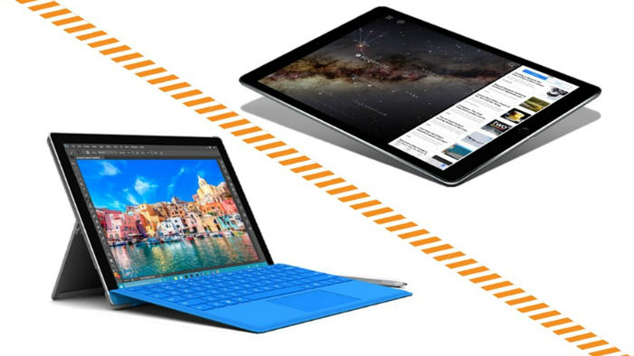 Surface Pro 4 and iPad Pro