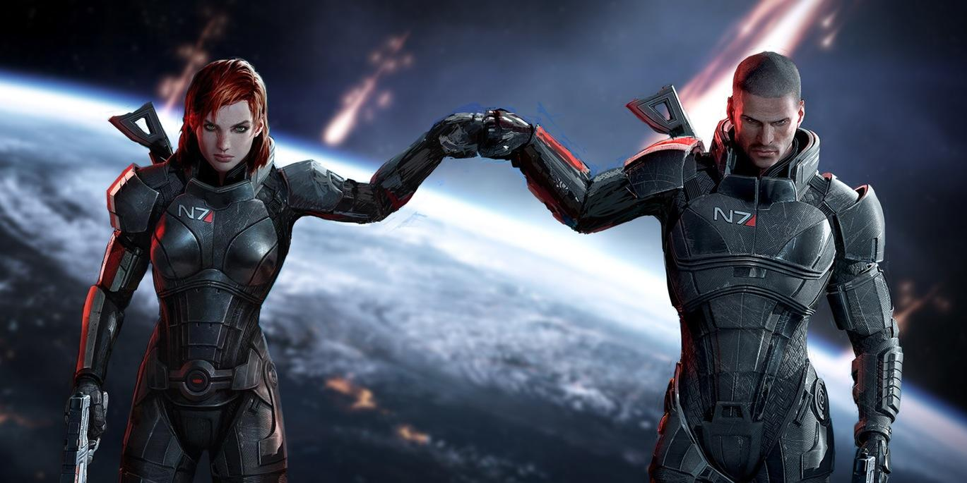 Mass Effect Fist