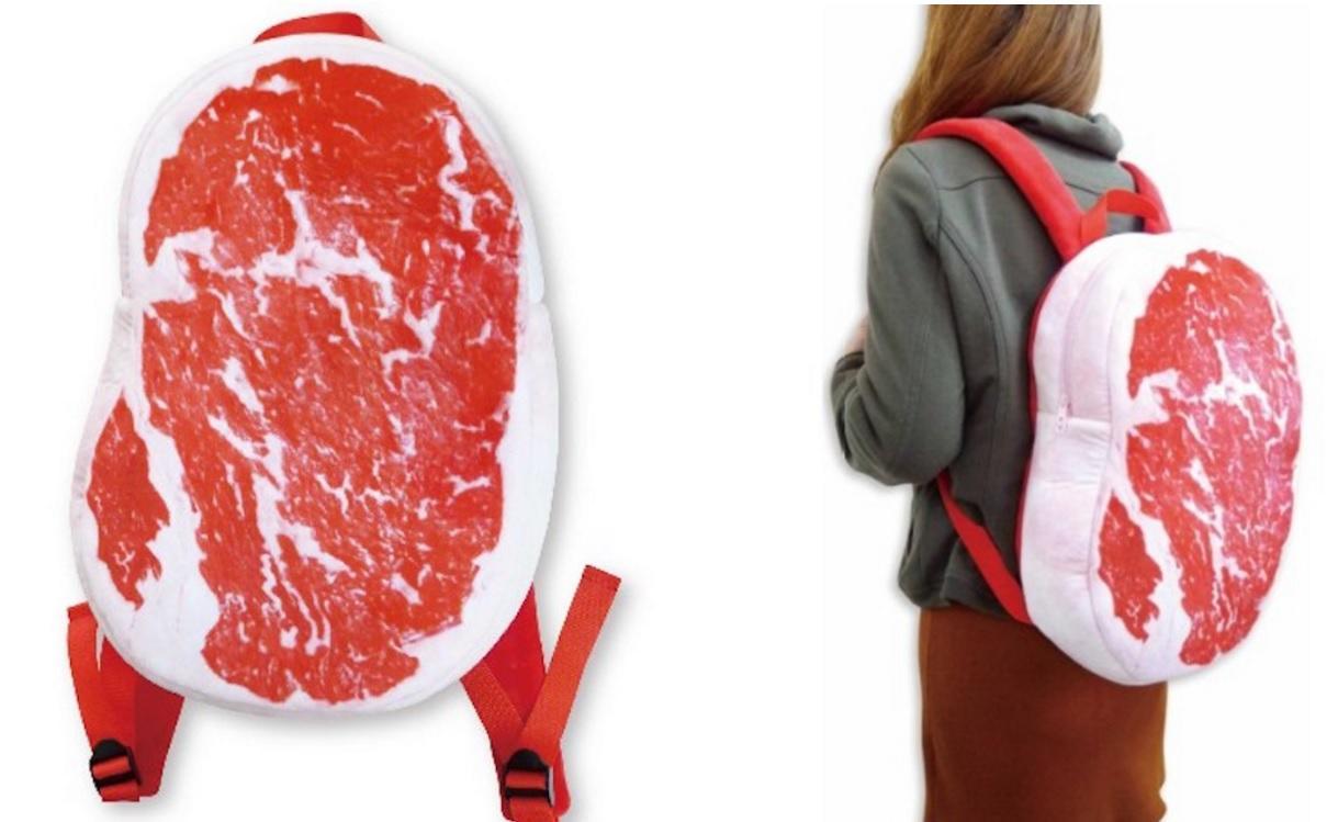 Raw Steak Backpack