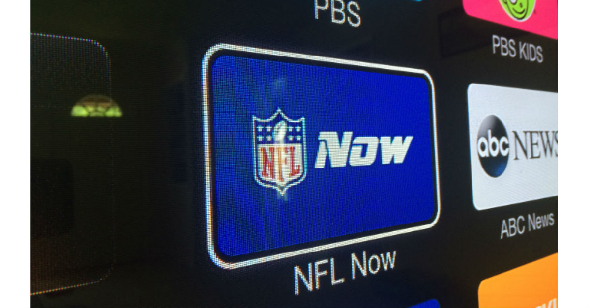 NFL Apple TV