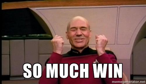Jean Luc Picard Win meme