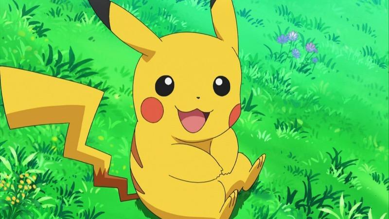 Pikachu Sitting
