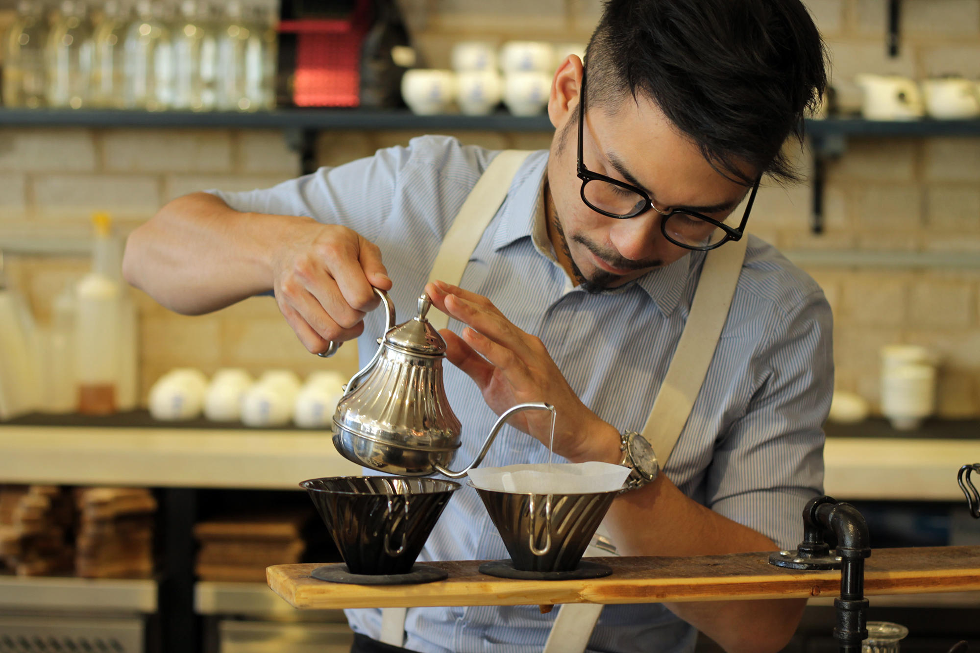Pour Over Coffee Guy