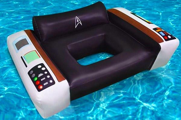 Star Trek pool float