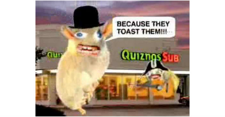 Spongmonkeys For Quiznos