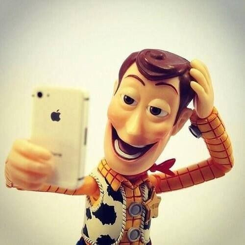 Woody Selfie
